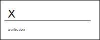 Microsoft Office-handtekeningregel...